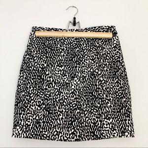 Diane von Furstenberg Black and White Skirt size 2